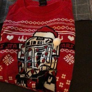 Christmas sweater. Star Wars
